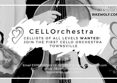 cellist townsville cello lessons
